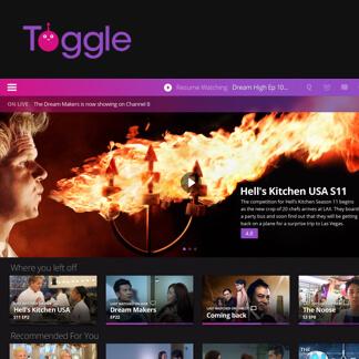 Toggle V3 Mediacorp